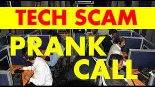 Microsoft Windows Support Tech Scam PRANK CALL!