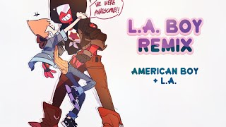 LA Boy Mashup [American Boy + The Party- LA]