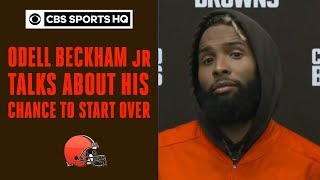 """I am beyond excited about the opportunity I have to start over"" Odell Beckham Jr. 