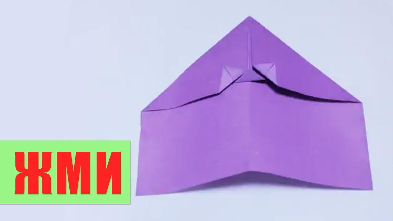 Галка из бумаги своими руками