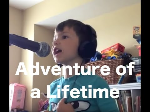 Most Adorable Coldplay Cover Ever! - Adventure of a Lifetime