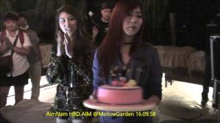 Aim Nam HBD Aim @Mellow Garden 16.09.58 by Tick