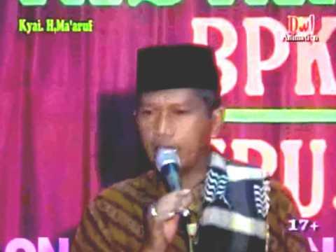 Pengajian Lucu Kh Ma'ruf Di Undaan Kudus Full Humor video