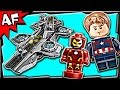 Lego Avengers SHIELD HELICARRIER 76042 Stop Motion Build Review