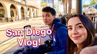 San Diego Trip with Aaron! - Roni Vlog
