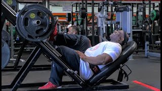 2019 Arnold Pro Strongman Competition Plus Leg workout with Rob DiD it and Golds Gym