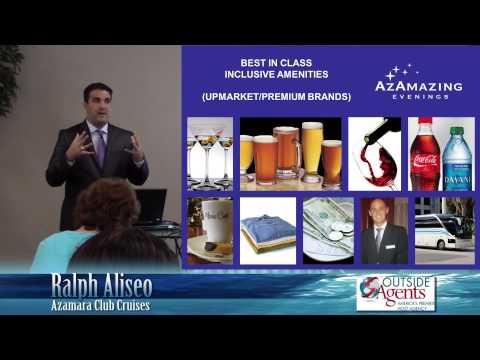 Azamara Club Cruises - Ralph Aliseo