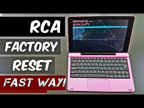 HOW to Factory Reset RCA Tablet /EASY Steps/ [2018]