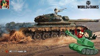 World of Tanks - Фарм 3 000 000 серы для покупки WZ-111 model 5A