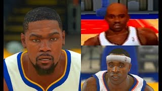 Highest Rated Golden State Warriors Players from NBA 2K to NBA 2K18!