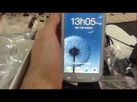 Réplica Samsung Galaxy S3 I9300 . CELULAR VENDIDO. ~ VÍDEO POSTADO HÁ 1 ANO