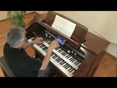AT-900 Platinum Edtion Music Atelier Organ Demo, Csardas Performed by Hector Olivera