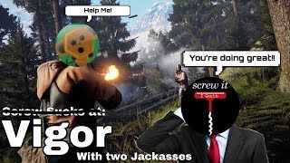 Vigor with two Jackasses (ft. Crazy Apple) | Talk Show