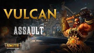 SMITE! Vulcan, Alguien ha pedido un focus? Al parecer yo...! Assault #11