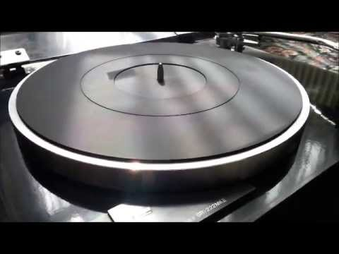 Sansui SSR-222 MkII Turntable - Noise Demonstration