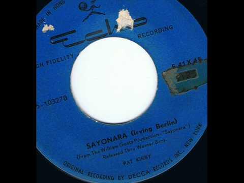 Irving Berlin - Sayonara