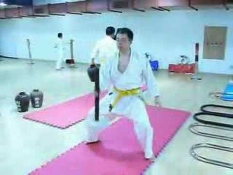 Okinawan Goju Ryu Karate Conditioning Image 1