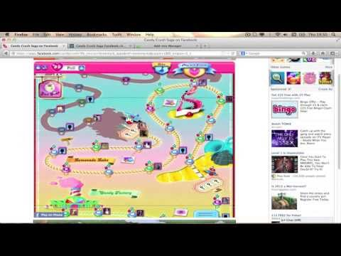 How to get unlimited lives and boosters on candy crush mac/windows 100