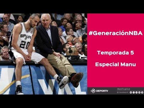Manu Ginóbili - Programa Especial de #GeneraciónNBA
