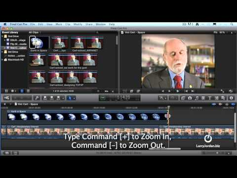 Editing in Final Cut Pro X with Larry Jordan - Part 2
