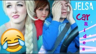FROZEN CAR RIDES WITH JELSA