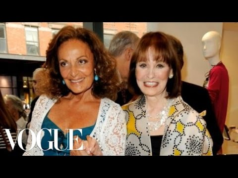 Diane von Furstenberg and Gloria Vanderbilt Video