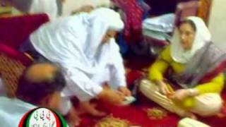 Mohtarma Benazir Bhutto Sahiba at Larkana Visit Part-1.MPG