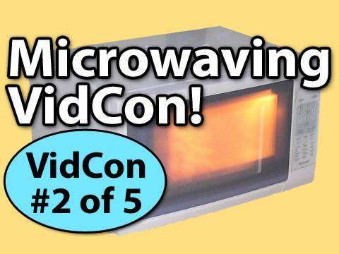 VidCon Trip #2 of 5: Microwaving VidCon!
