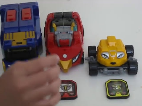 Power Rangers RPM High Octane Megazord Review