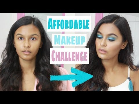 Full Face Of Makeup Using Only Miss Claire / Affordable Makeup In India