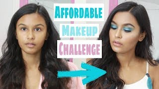 Full Face Of Makeup Using Only Miss Claire Affordable Makeup In India