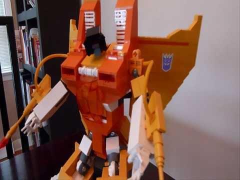 SUNSTORM. A G1 Lego Transformers Creation