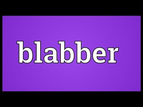 Header of blabber