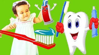 Brush Your Teeth Song Nursery Rhymes for Kids Funny Songs