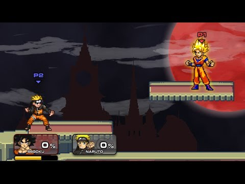 Como transformarse en super sayayin | Super Smash Flash 2 Demo v0 9