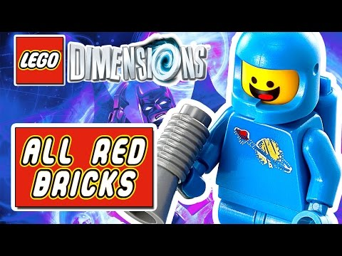 Lego Dimensions: All Red Brick Locations