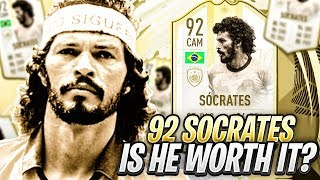 MOMENTS SOCRATES! PLAYER REVIEW & FUT CHAMPIONS GAMEPLAY! FIFA 19 Ultimate Team