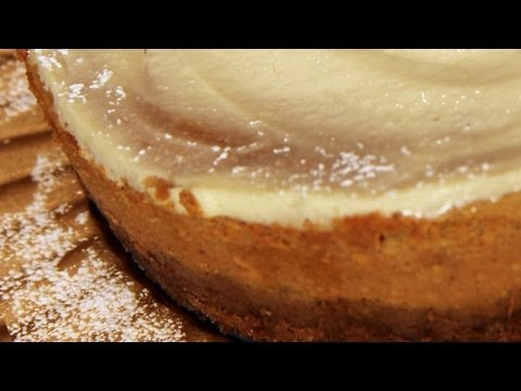 Pumpkin Cheesecake Recipe - Laura Vitale - Laura in the Kitchen Episode 245