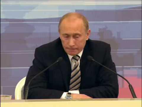 7 Ежегодная большая пресс-конференция Part 13 В.Путин (Putin)
