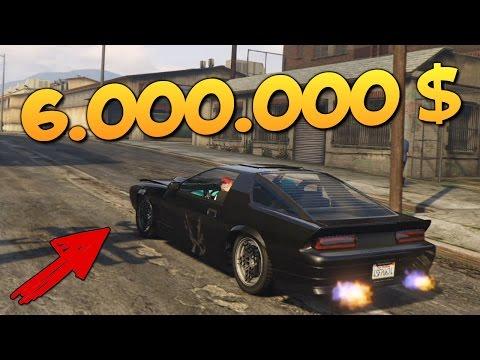 GTA ONLINE - ЛЕТАЮЩАЯ ТАЧКА ЗА 6000000$ #300