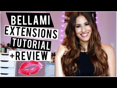 Hair Extensions For Short Hair! Bellami Review + Tutorial! ♡