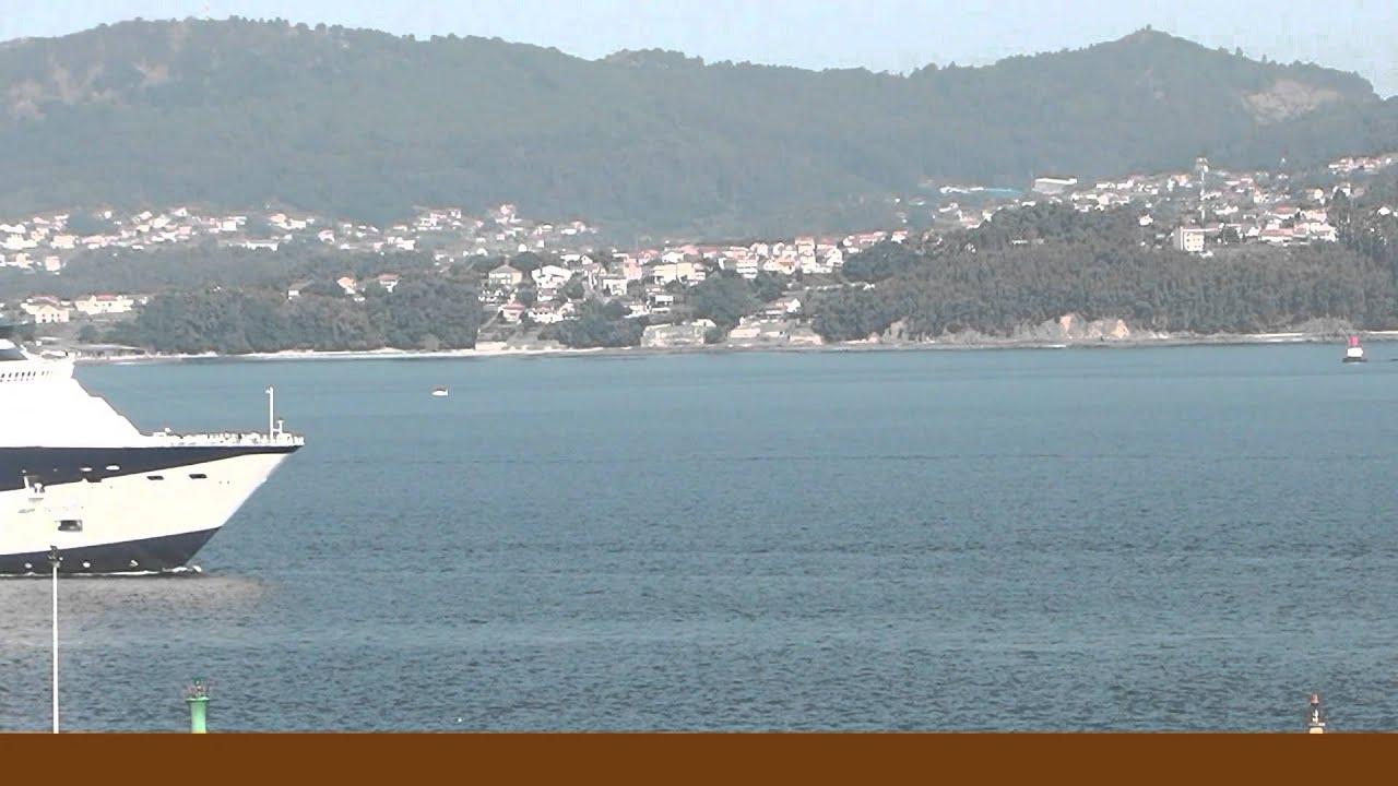 Vigo gran puerto de cruceros hd youtube - Puerto de vigo cruceros ...