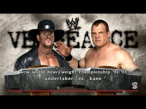 PC世界摔角娛樂WWE 2K16 - 送葬者[Undertaker] Vs. 肯恩[緻命復仇'01] [普通規則賽]【WCW世界重量級冠軍'92】 [19/11/'16]