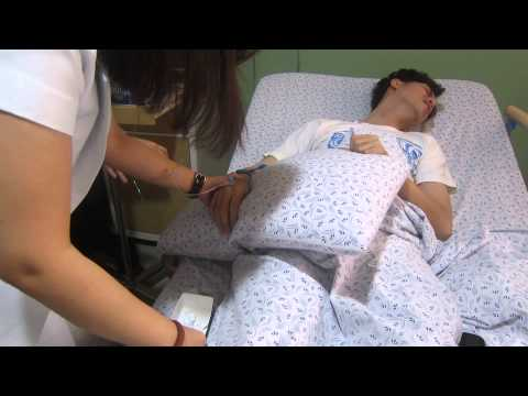 Very Painful Venipuncture Needle Insertion Part 2 2 video