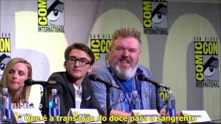 Game of Thrones Comic Con Painel 2016 - Parte 1 (Legendado)