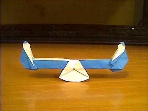 Горка  оригами