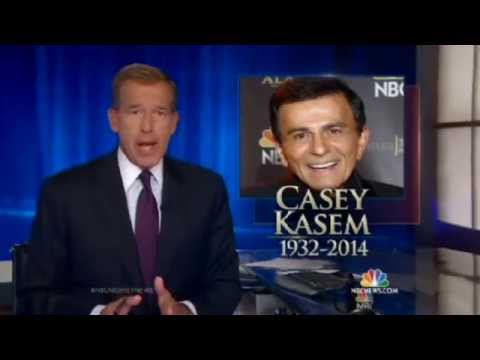 NBC Nightly News: Casey Kasem Dies at 82