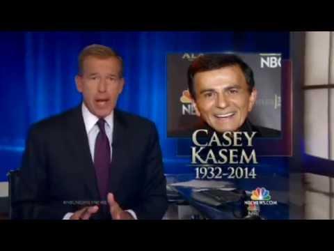 NBC Nightly News: Casey Kasem Dies at 82