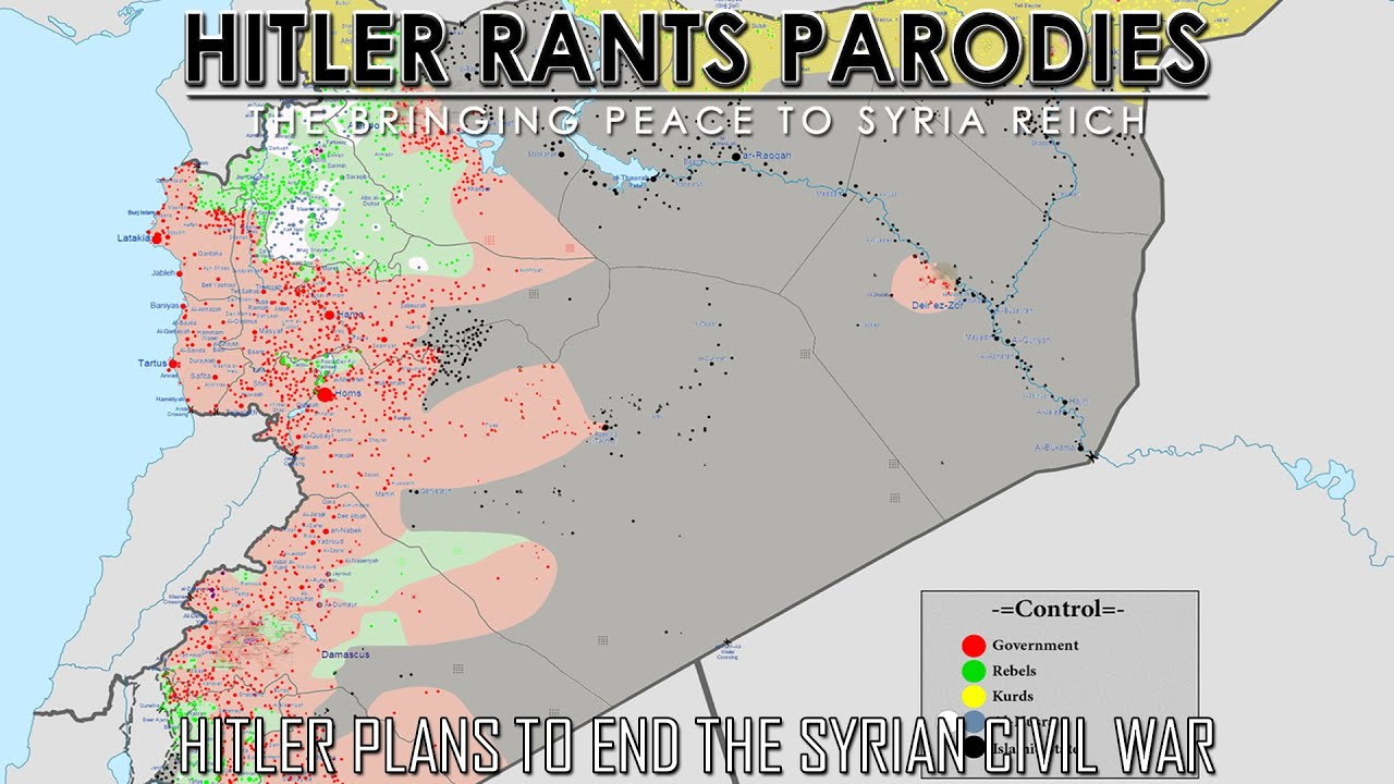 Hitler plans to end the Syrian Civil War
