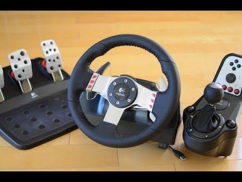 Хорошая настройка игрового руля Logitech G27 в игре Assetto Corsa